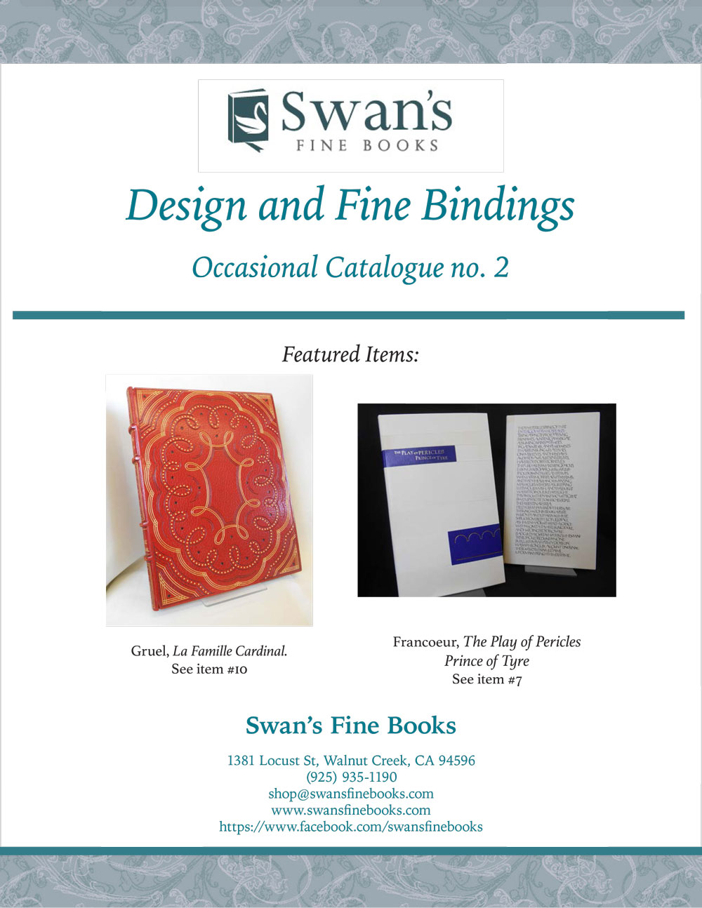 Catalogue 2 – Design and Fine Bindings