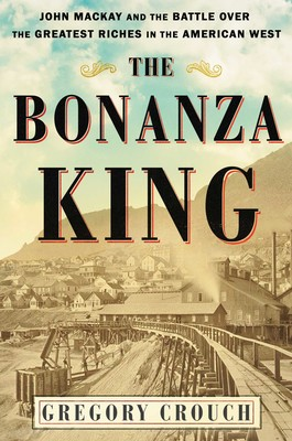 "Meet the author! A new book by Greg Crouch, ""The Bonanza King"""