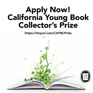 Third Annual California Young Book Collector's Prize
