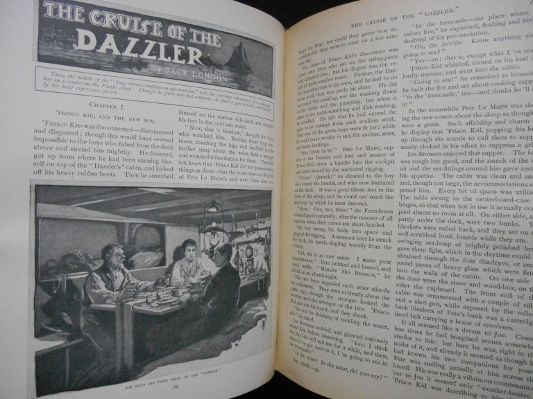 "St. Nicholas: An Illustrated Magazine For Young Folks. Volume XXIX Part II, May 1902 To October 1902 [Includes first appearance of ""The Cruise of the Dazzler"" and ""To Repel Boarders"" by Jack London]. With, Mary Austin Jack London, etc, Mary Mapes Dodge."