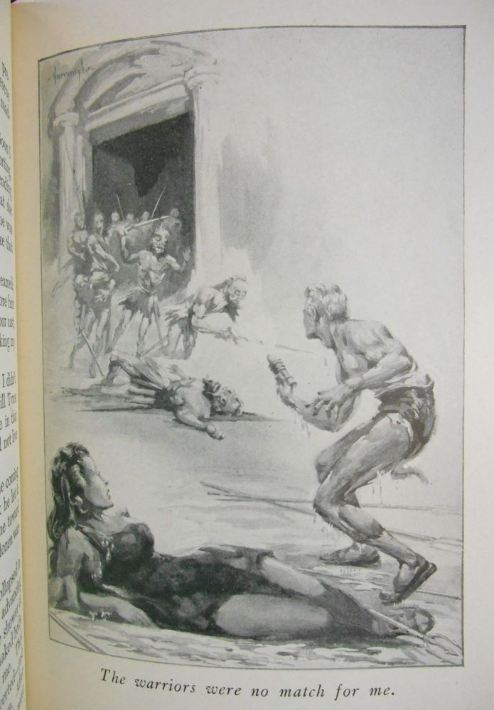 Escape on Venus. Edgar Rice Burroughs, John Coleman Burroughs, Illustrations.