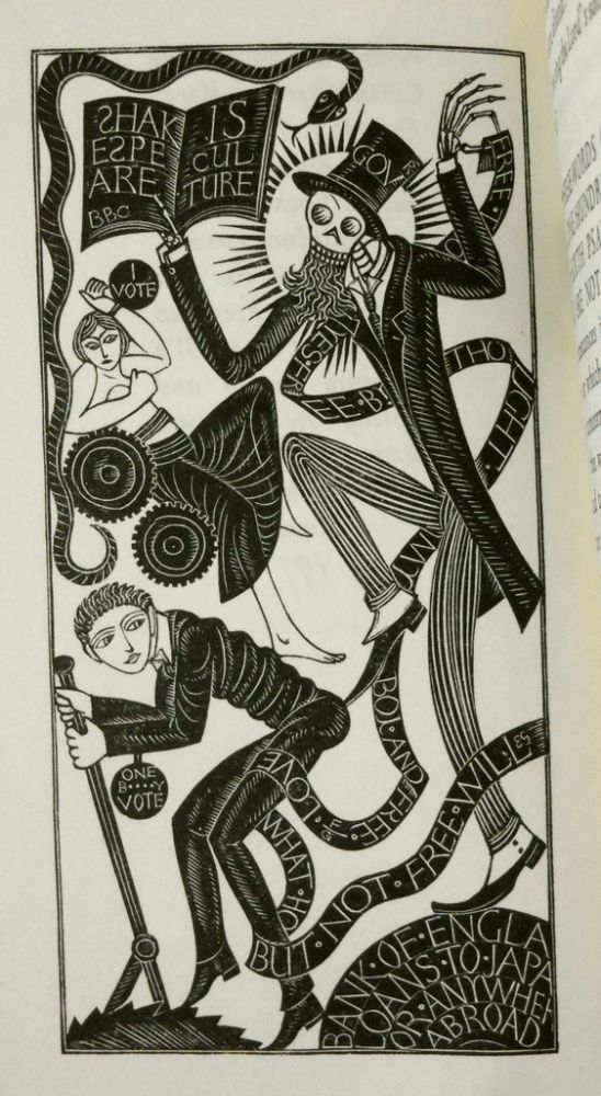 The Lord's Song. A Sermon. Eric Gill, Author and.