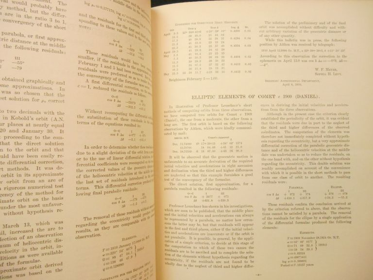 Lick Observatory Bulletins; Contributions of the Berkeley Astronomical Department Volumes I - XI, 1904-1924. A O. Leuschner, Preface.