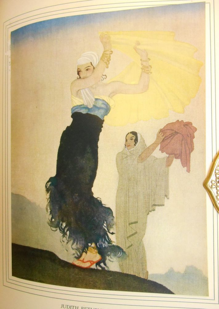 Judith; Reprinted from the Revised Version of the Apocrypha. Biblical Text, Montague R. James, Dr., W. Russell Flint, Introduction, Illustrations.