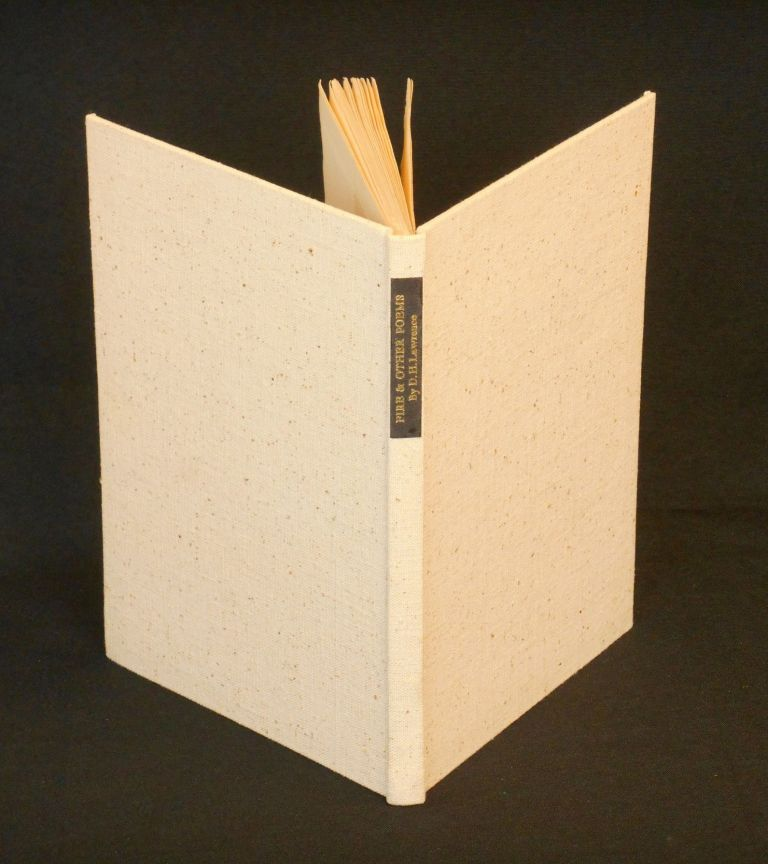 Fire and Other Poems. D. H. Lawrence, Robinson Jeffers, Frieda Lawrence, Valenti Angelo, Foreword, Note, Illustration.