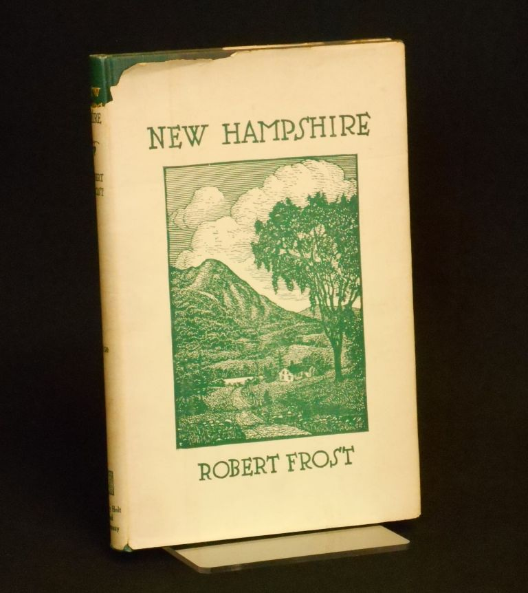New Hampshire, A Poem with Notes and Grace Notes. Robert Frost, J. J. Lankes, Illustrations.