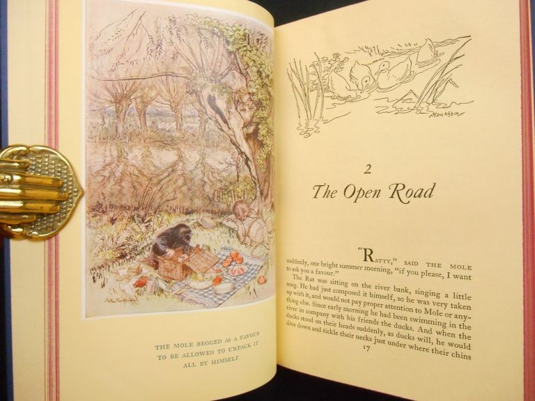The Wind in the Willows. Kenneth Grahame, A. A. Milne, Arthur Rackham, Introduction, Illustrations.