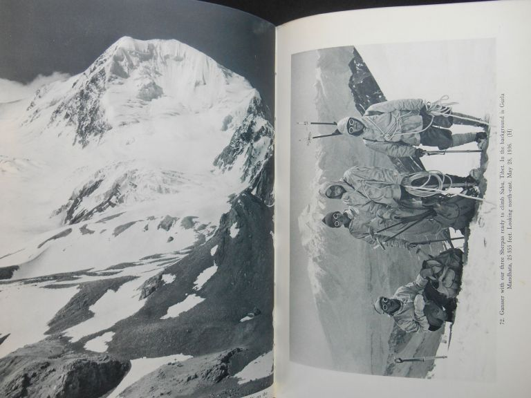 The Throne of the Gods; An Account of the First Swiss Expedition to the Himalayas. Arnold Heim, August Gansser, Eden Paul, Cedar Paul.