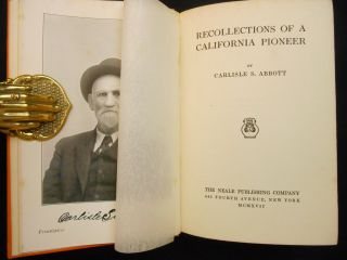 Recollections of a California Pioneer
