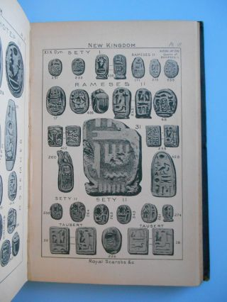 The Sacred Beetle: A Popular Treatise on Egyptian Scarabs In Art and History [**PRESENTATION COPY TO LORD GRENFELL**]