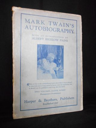 Mark Twain's Autobiography [WITH SLIPCASE]. Mark Twain.