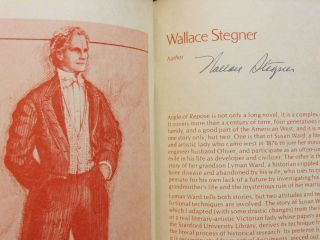 Angle of Repose: Opera Program (signed by Wallace Stegner), [with] San Francisco Opera Poster