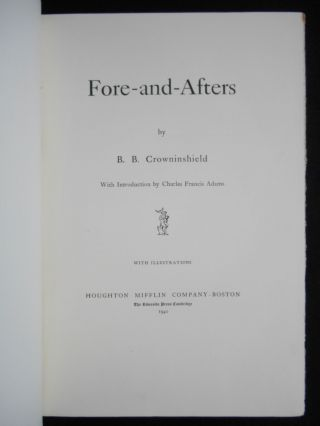 Fore-and-Afters [WITH ORIGINAL BOX]
