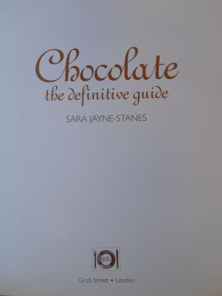 Chocolate, The Definitive Guide