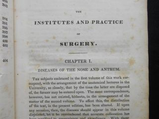 The Institutes and Practice of Surgery; Being the Outlines of A Course of Lectures. Vol. II.