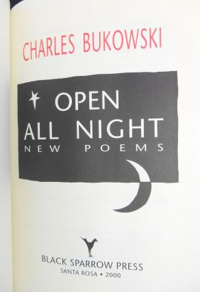 Open All Night; New Poems