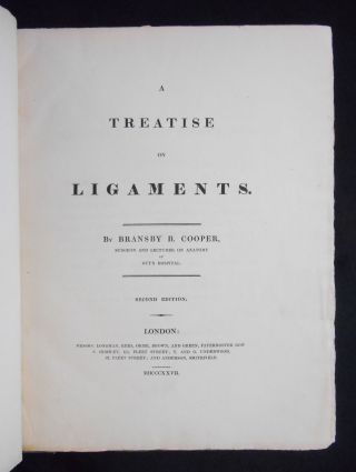 A Treatise on Ligaments