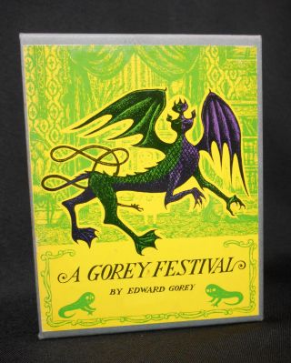 A Gorey Festival: The Fatal Lozenge, The Curious Sofa, The Hapless Child, and The Sinking Spell....