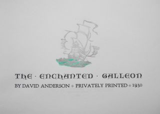 The Enchanted Galleon