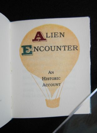 Alien Encounter, An Historic Account [Miniature Book - Ballooning]