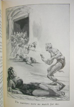 Escape on Venus. Edgar Rice Burroughs, John Coleman Burroughs, Illustrations