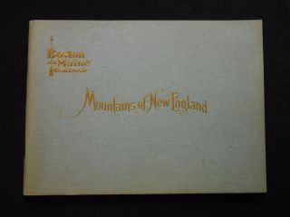 Five volumes: Mountains of New England; Picturesque New England, Historical, Miscellaneous; Rivers of New England; New England Lakes; [and] Seashores of New England