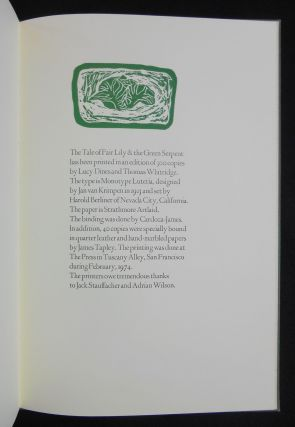 The Tale of Fair Lily and the Green Serpent