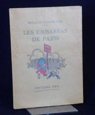 Les Embarras de Paris [The Embarrassment of Paris]; (Satire VI)