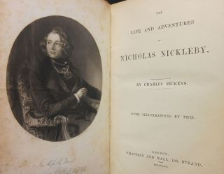 The Life and Adventures of Nicholas Nickleby (Extra Illustrated)