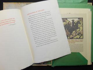 A Grab[horn] Bag Original Pages; Pages from Various Books Printed at The Grabhorn Press, San Francisco, 1928-1940