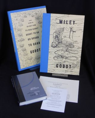 Godot: An Imaginary Staging by William T. Wiley of Waiting for Godot, by Samuel Beckett [with] En...