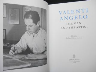 Valenti Angelo, The Man and the Artist