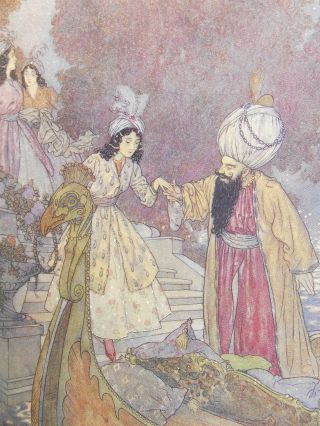 The Sleeping Beauty, and Other Fairy Tales. Sir Arthur Quiller-Couch, Edmund Dulac, Illustrations