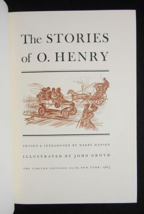 The Stories of O. Henry