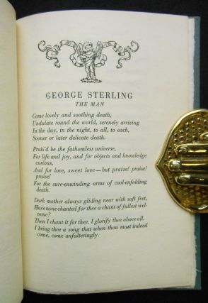 George Sterling, The Man; A Tribute