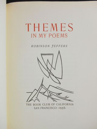 Themes in My Poems