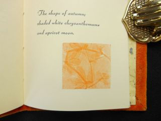 Apricot Moon; images in the japanese haiku style of seventeen syllable verses. Carol Cunningham