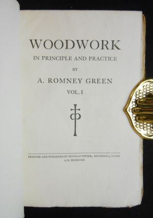 Woodwork; In Principle and Practice