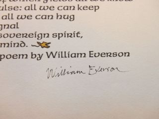 Sixty Five, A Poem by William Everson