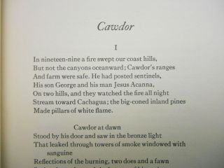 Cawdor; and Other Poems