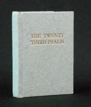 The Twenty-Third Psalm