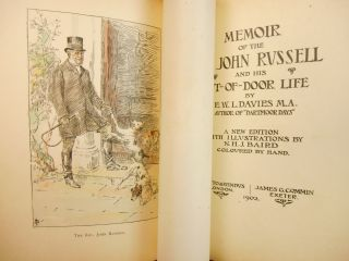 Memoir of the Rev. John Russell [Association Copy - Inscribed by Edward VII of England]; and His Out-of-Door Life