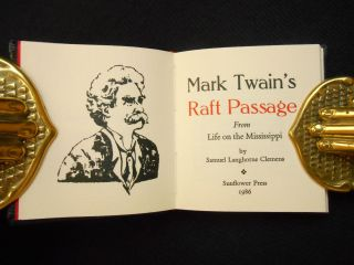 Mark Twain's Raft Passage; From Life on the Mississippi