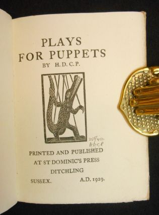 Plays for Puppets