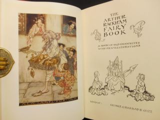 The Arthur Rackham Fairy Book; A Book of Old Favourites with New Illustrations