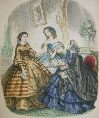 London and Paris Ladies' Magazine of Fashion