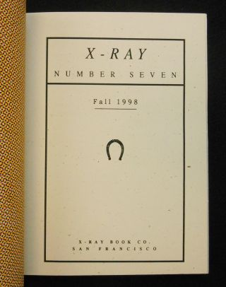 X-Ray Number Seven
