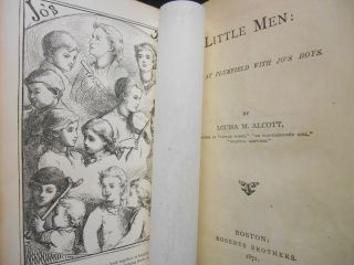 Little Men; Life at Plumfield with Jo's Boys. Louisa Alcott, ay