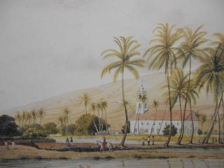 A Pictorial Tour of Hawaii 1850-1852: Watercolors, Paintings & Drawings by James Gay Sawkins;...