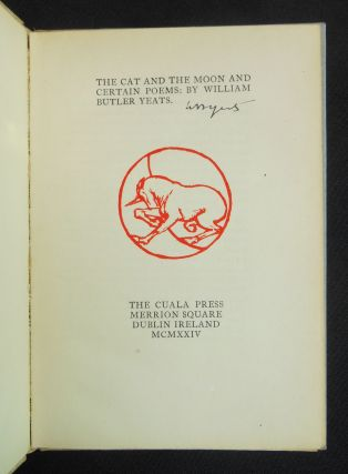 The Cat and the Moon and Certain Poems